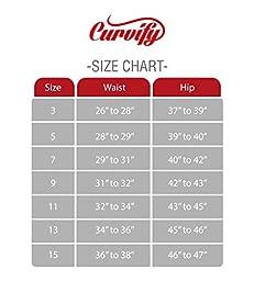 Curvify 764 Women\'s Butt-Lifting Skinny Jeans | High-Rise Waist, Brazilian Style Black 11