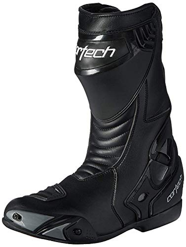 Cortech Latigo WP Men's Road Race Motorcycle Boots (Black, Size 11/EU 45)
