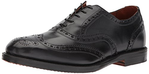 Allen Edmonds Men's Whitney Wingtip with Perfing Detail Oxford Black Calf 10.5 D US