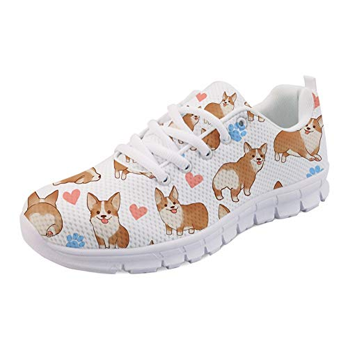 Corgi Showudesigns Yellow Donna Multi Sneaker wUgUvqx
