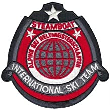 Steamboat Springs CO 1970's International Ski Team Collector Patch