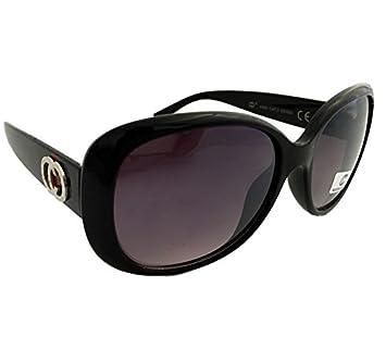 Dasoon vision Gafas de Sol años 60 de Pasta Negras UV 400 ...