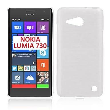 online retailer 1a333 b5c9b TPU Silicone Case for Nokia Lumia 730 Dual Sim, Lumia 735 Color ...