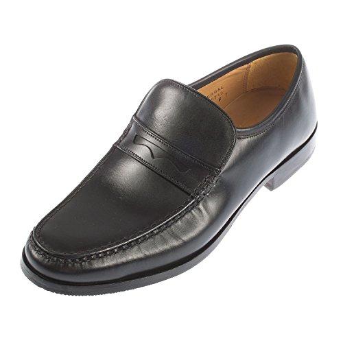 BARKER Men's Fergal F Fitting Leather Slip On Moccasin Shoe (415716)