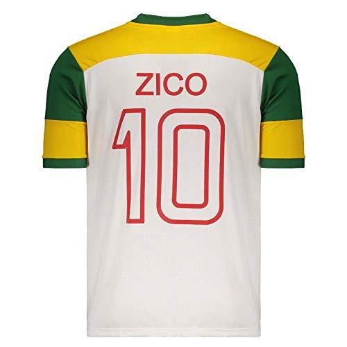 209b793e8c Camisa Brasil Flamengo Zico Retrô  Amazon.com.br  Esportes e Aventura