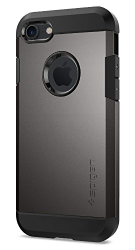 Spigen Tough Armor iPhone 7 Case with Extreme Heavy Duty Protection and Air Cushion Technology for iPhone 7 2016 - Gunmetal
