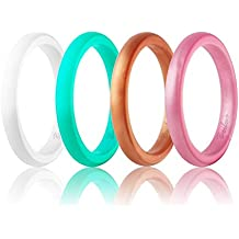 Amazon.com: rose gold silicone ring