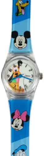 Blue Jelly Band Pluto Watch - Disney Pluto Kids Watch