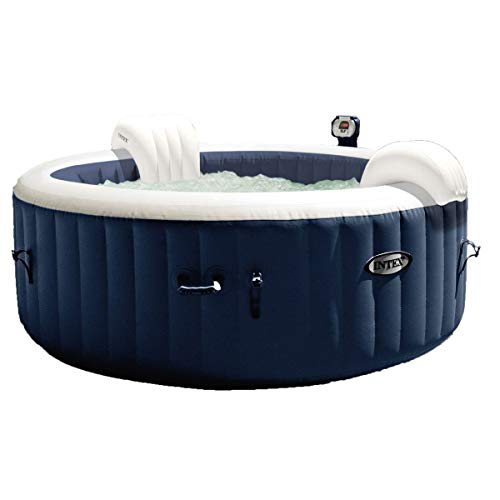 Intex PureSpa Plus Bubble Massage Set, Blue/White (Spa Jacuzzi Hot Tub)