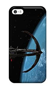 Fashion Tpu Case For Iphone 5/5s- Deep Space Nine Defender Case Cover