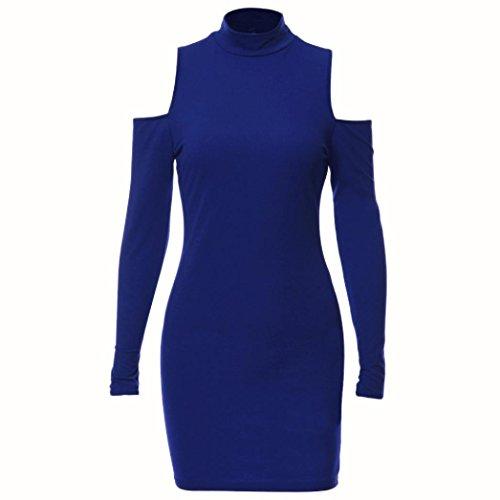 Bekleidung Longra Damen Bodycon Kleid Damen Abendkleider Partykleid ...