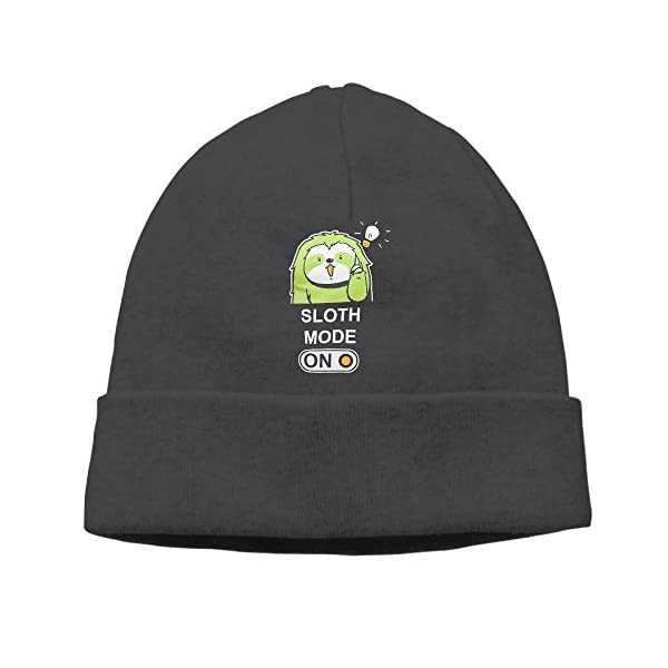 Sloth Mode On Chill Bro Beanies Cap -