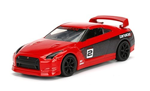 JADA 1/64 METALS JDM TUNERS 2009 NISSAN SKYLINE GT-R R35 RED DIECAST TOY CAR IN BLISTER PACK