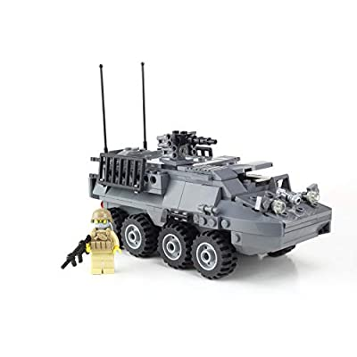 Battle Brick Army Stryker Vehicle Hand Sorted Custom Set: Toys & Games