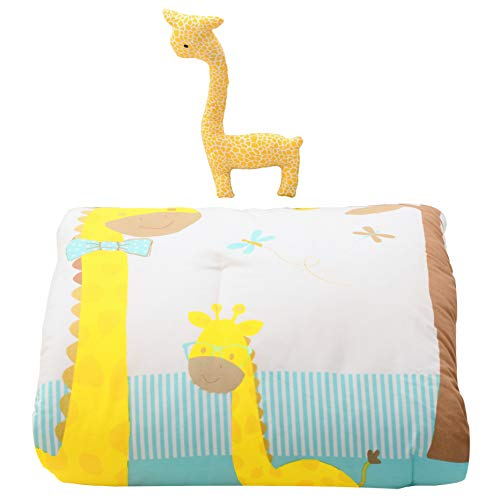 Cuddles & Cribs Nursery Bedding Crib in a Bag - 2 Piece, Happy Giraffe