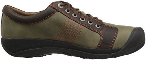 Scherp Mens Austin Shoe Army / Earth