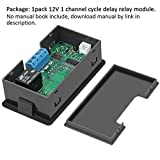 Timer Relay,Icstation DC 12V 10A Programmable
