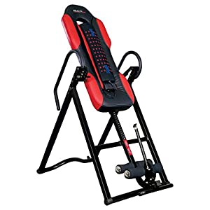 Health Gear ITM5500 Advanced Technology Inversion Table with Vibro Massage & Heat Heavy Duty up to 300 lbs.