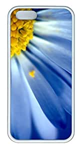iPhone 5S Case, iPhone 5 Cover, iPhone 5S Blue Petals Soft Cases by mcsharks