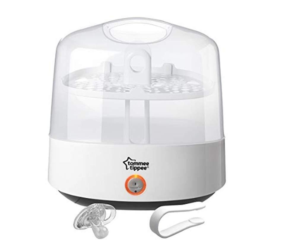 超美品 Tommee Sterilizer Tippee Closer to Nature Electric Steam Sterilizer Steam (White) (White) White B07KVKT99S, コドモズドア:f411a464 --- a0267596.xsph.ru