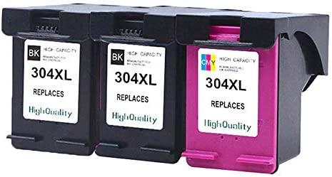 Ouguan® 3X (2 Negro, 1 Tricolor) HP 304 XL Show Preciso ...