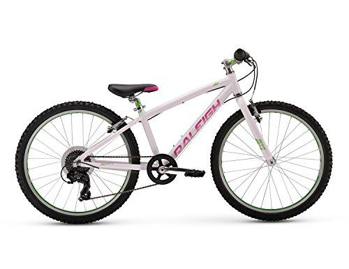 Raleigh Bikes Girls Lily 24 Mountain Bike, 24