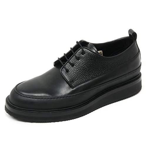 B8883 Uomo GOLD Nero Shoe Man Scarpa Pelle Scarpe SARTORI Nero Classica xfI5RqZ1