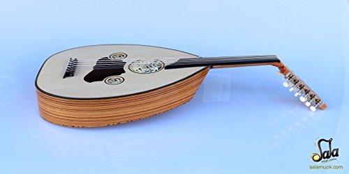Turkish Professional Half Cut Electric Oud Ud String Instrument AOH-370 by Sala Muzik