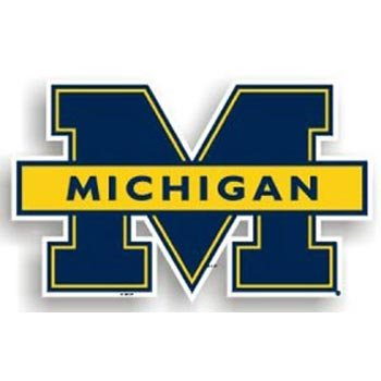 NCAA Michigan Wolverines 12-Inch Magnet