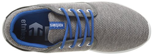 Etnies Kids Scout, Zapatillas de Skateboarding Infantil Gris - Gris (Grey Grey Blue 074)