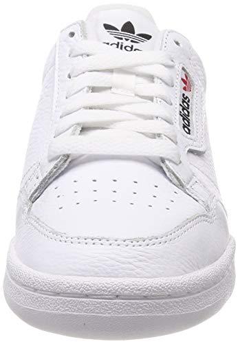 Homme Blanc 80 escarl maruni Continental Chaussures ftwbla Fitness 000 De Adidas nBqX5gY