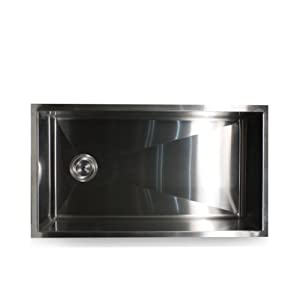 25 inch undermount kitchen sink nantucket sinks zr3218 32 inch pro series single bowl 7307