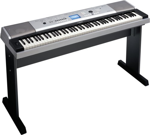 Yamaha DGX-530 88-Key Keyboard with Matching Stand and Sustain Pedal