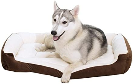 Odowalker - Cama para perro, suave, textiles, reversible, para ...