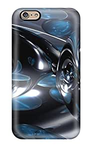 Flexible Tpu Back Case Cover For Iphone 6 - Digital Art Abstract Digital Art