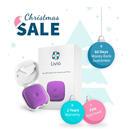 Livia Menstrual Pain Relief Device (Lavender) by Livia