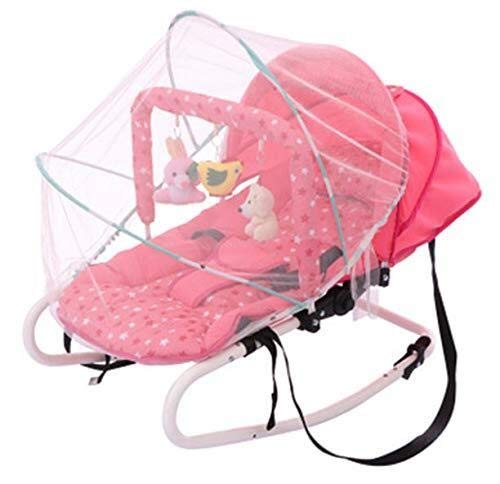 YSYYSH Baby Rocking Chair, No Radiation, Natural Shaking Baby Comfort Bed, Movable Cradle Swing Rocking Chair by YSYYSH