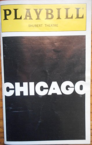 Ruthie Henshall Signed Playbill from Chicago starring, Ruthie Henshall Brent Barrett Belle Calaway P. J. Benjamin Roz Ryan Music by John Kander; Lyrics by Fred Ebb; Melodic Director: Rob Fisher