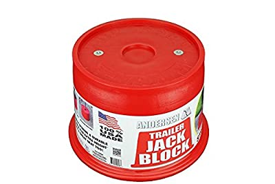 Andersen Hitches 3608 | Trailer Jack Block with Magnets