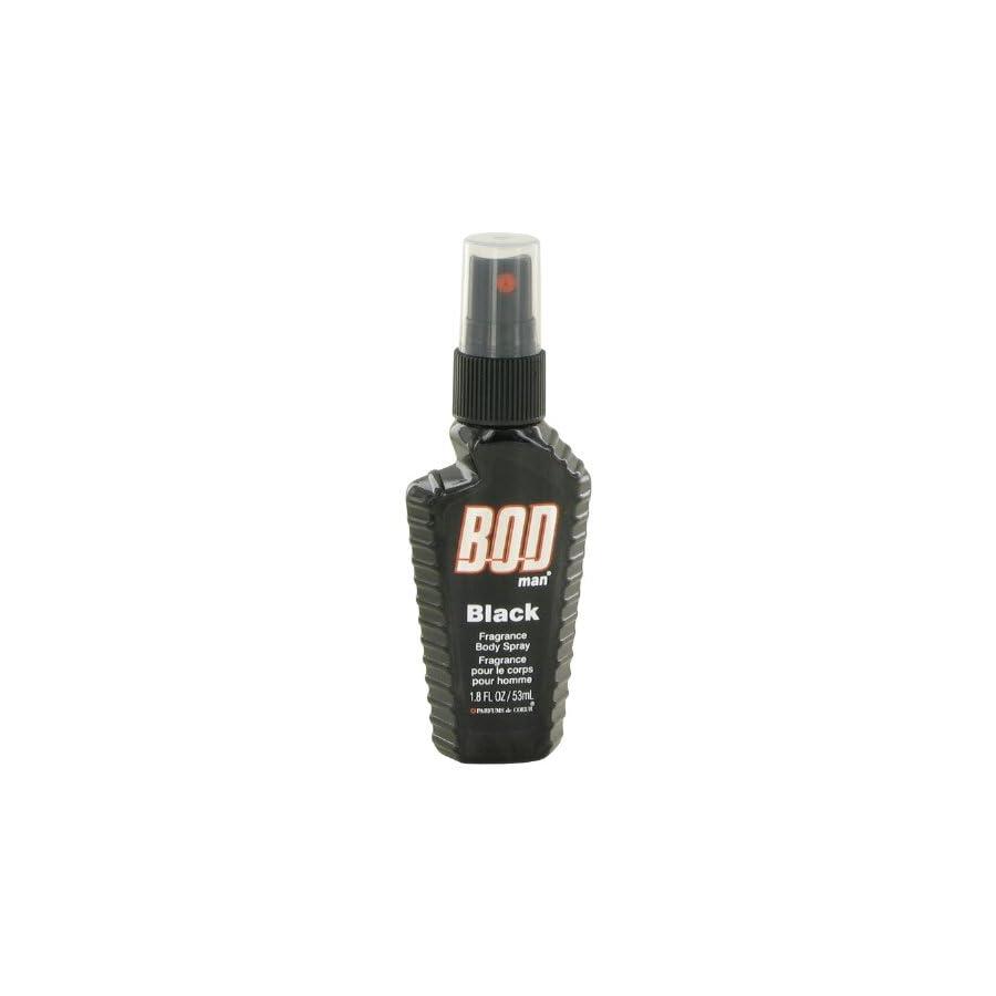 Bod Man Black by Parfums De Coeur Body Spray 1.8 oz (Men)