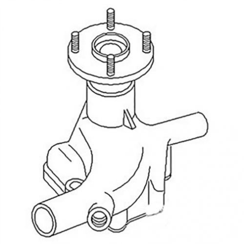 All States Ag Water Pump International 284 274 1058287C91-R