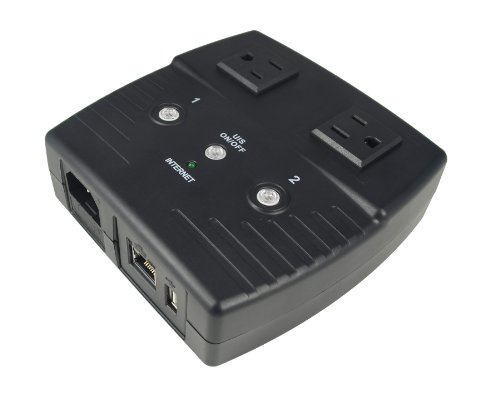 MSNSwitch - Internet IP-Enabled Remote Power Reboot Switch (AC Power / Dual Outlet / Web Interface)