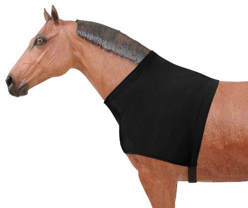 Tough 1 Mane Stay Nylon/Spandex Shoulder Guard, Black, Medium