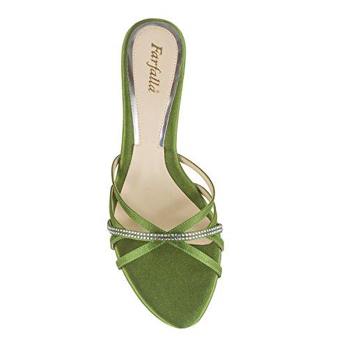 FARFALLA Luxury Shoes Green LRUL6yt