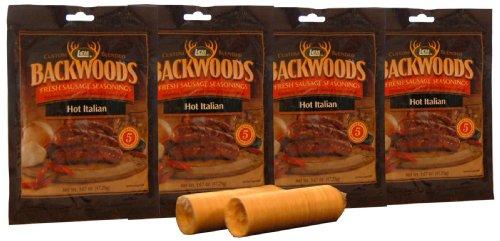 (LEM Backwoods Hot Italian Sausage Kit)