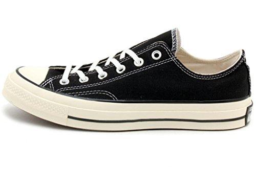 Converse Chuck Taylor All Star OX 70' Black Low top Shoes 144757C Black 5 D(M) US Men
