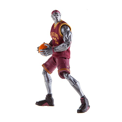 NBA Heroes Action Figure, LeBron James (Cleveland Cavaliers)
