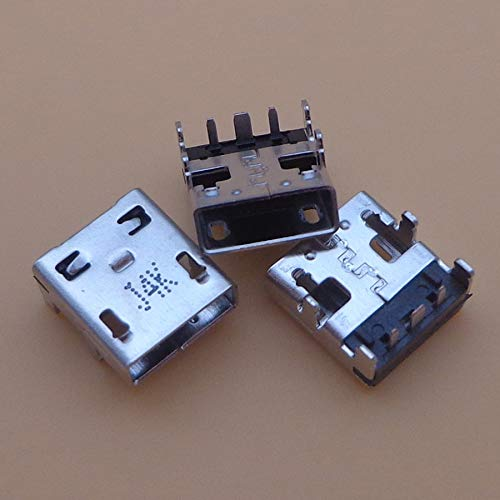 Gimax 20pc DC power jack For Asus X205 X205T X205TA X205TAW E205SA E200HA Z3735F Power Jack Socket Charging Port Charger usb Connector