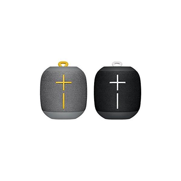 Ultimate Ears WONDERBOOM - Enceinte Bluetooth, Waterproof avec Connexion Double - Combo Noir et Gris 1