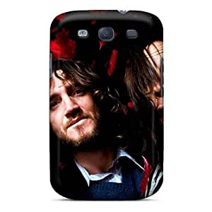 ColtonMorrill Samsung Galaxy S3 Anti-Scratch Hard Phone Cover Support Personal Customs Stylish Red Hot Chili Peppers Pattern [ZfH3420mNfk]